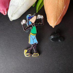 4/425 Disney Parks Cool Flexing Goofy Pin